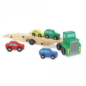 CAMION PORTACOCHES MADERA