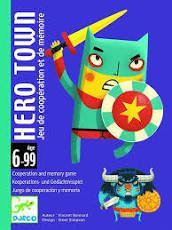 DJECO CARTAS HERO TOWN