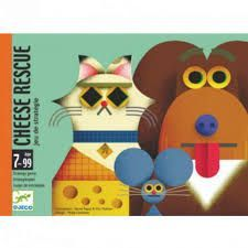 DJECO CARTAS CHEESE RESCUE
