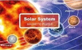 PUZZLE MAGNÉTICO 100 PIEZAS SISTEMA SOLAR