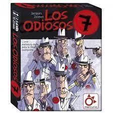 JUEGO DE CARTAS LOS ODIOSOS 7