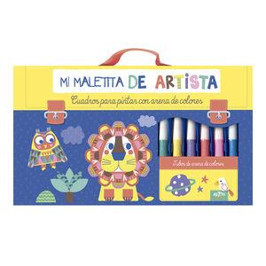MALETIIT ARTISTA:ARENAS COLORES.