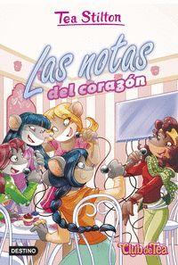 LAS NOTAS DEL CORAZON. TEA STILTON VR34