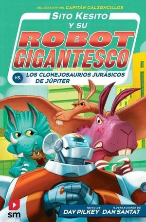 SITO KESITO CONTRA LOS CLONEJOSAURIOS JURASICOS DE JUPITER
