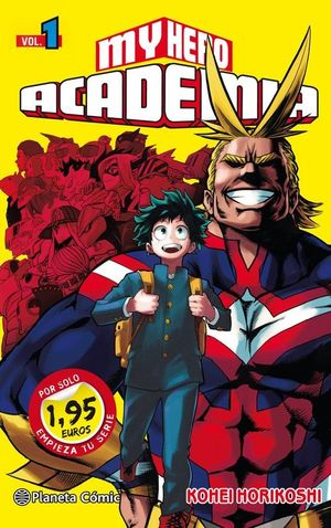 MM MY HERO ACADEMIA Nº 01 1,95