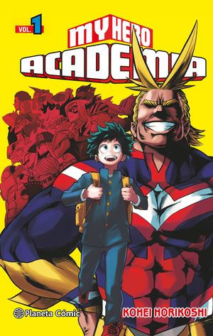 MY HERO ACADEMIA Nº01
