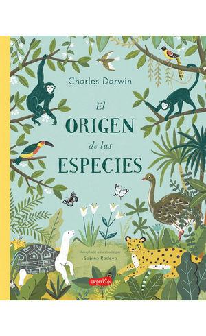 ORIGEN DE LAS ESPECIES DE CHARLES DARWIN