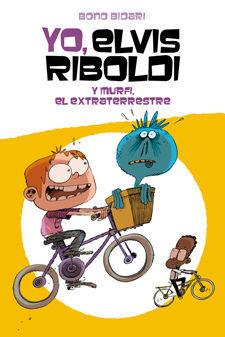 YO ELVIS RIBOLDI Y MURFI EL EXTRATERRESTRE