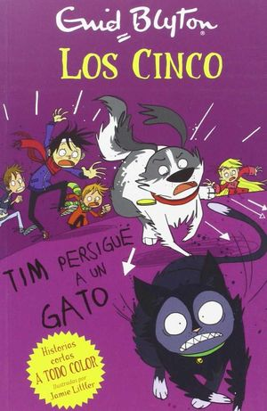 CINCO: TIM PERSIGUE UN GATO.JUV