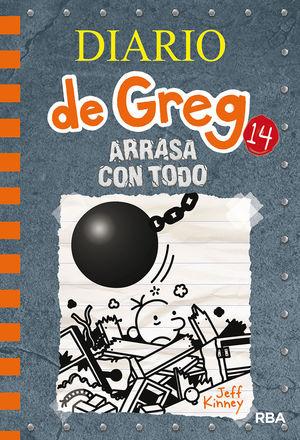 ARRASA CON TODO. DIARIO DE GREG 14