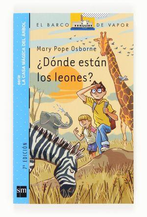 DONDE ESTAN LOS LEONES