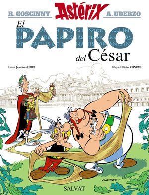 ASTERIX Y EL PAPIRO DEL CESAR