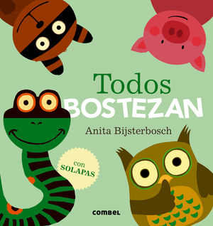 TODOS BOSTEZAN. COMBEL.