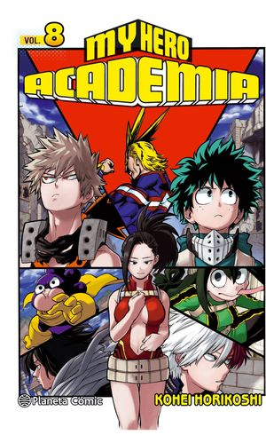 MY HERO ACADEMIA Nº08