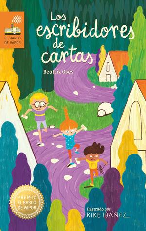 LOS ESCRIBIDORES DE CARTAS. PREMIO BARCO VAPOR 2019