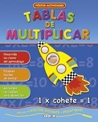 TABLAS DE MULTIPLICAR POSTER ACTIVIDADES