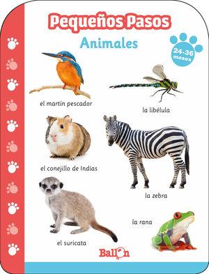 ANIMALES 24-36 MESES PEQUEÑOS PASOS
