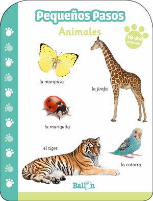ANIMALES 18-24 MESES PEQUEÑOS PASOS
