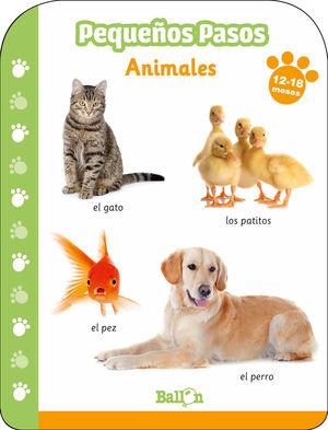 ANIMALES 12-18 MESES PEQUEÑOS PASOS
