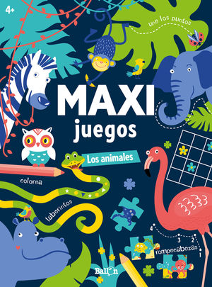 MAXI JUEGOS LOS ANIMALES