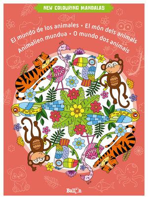 NEW COLOR MANDALAS MUNDO DE LOS ANIMALES