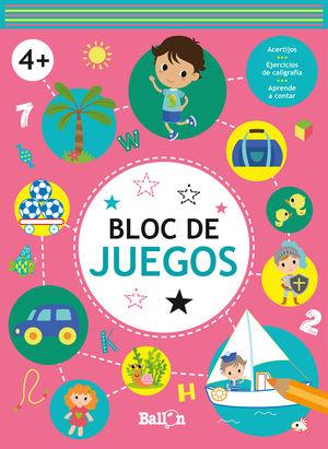 BLOC DE JUEGOS +4